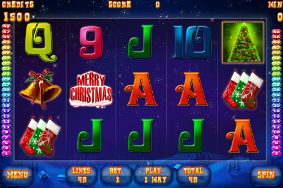 Screenshot Santa's Slot 2012