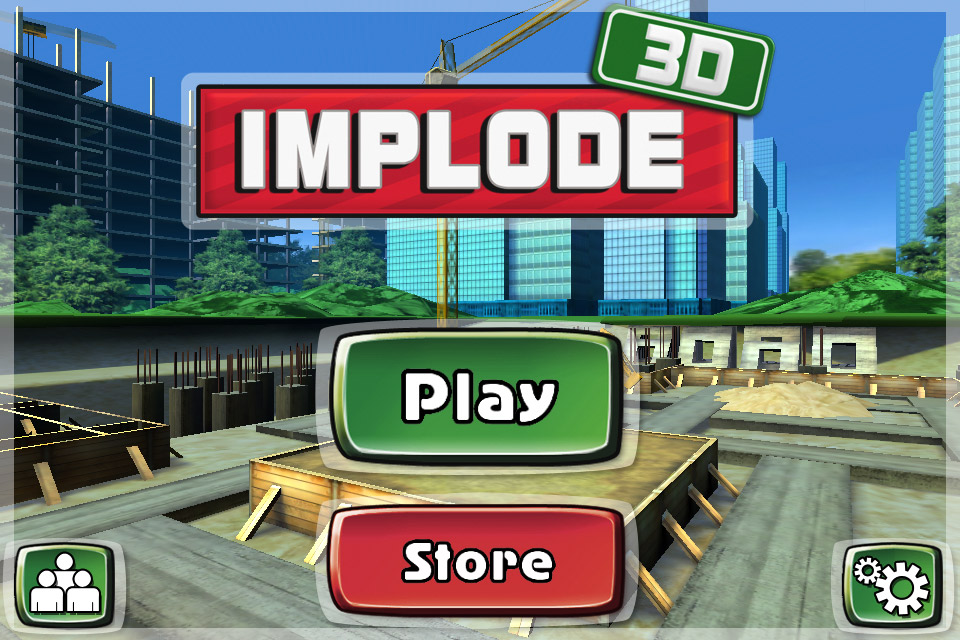 Implode 3D Screenshot